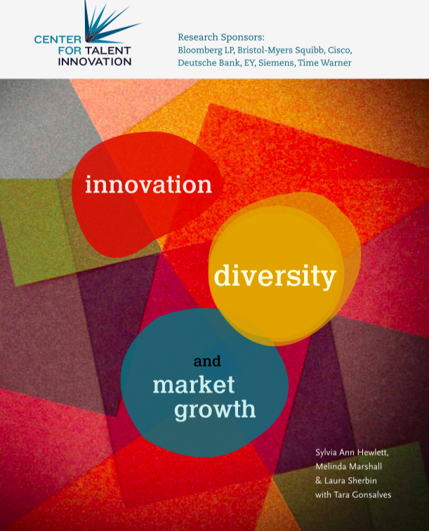 Estudio  'Innovation, Diversity and Market Growth'  por Sylvia Ann Hewlett, Melinda Marshall, Laura Sherbin y Tara Gonsalves