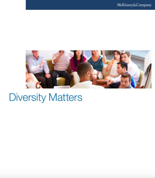 Reporte  'Diversity Matters'  de McKinsey & Company