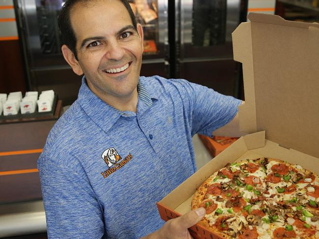 Ernie Koury is Director and owner of Little Caesars, Australia. Source: News Corp Australia