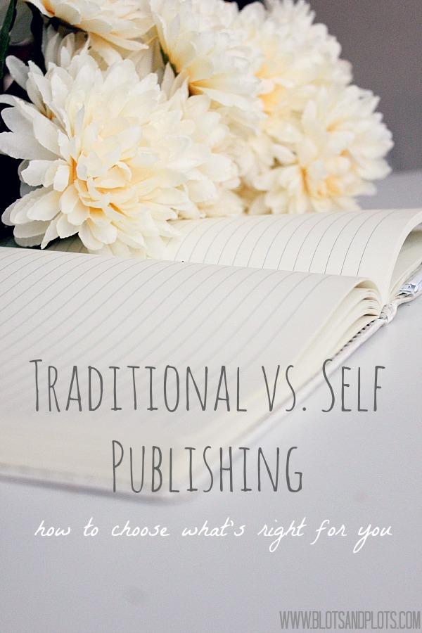 Traditional vs. Self Publishing