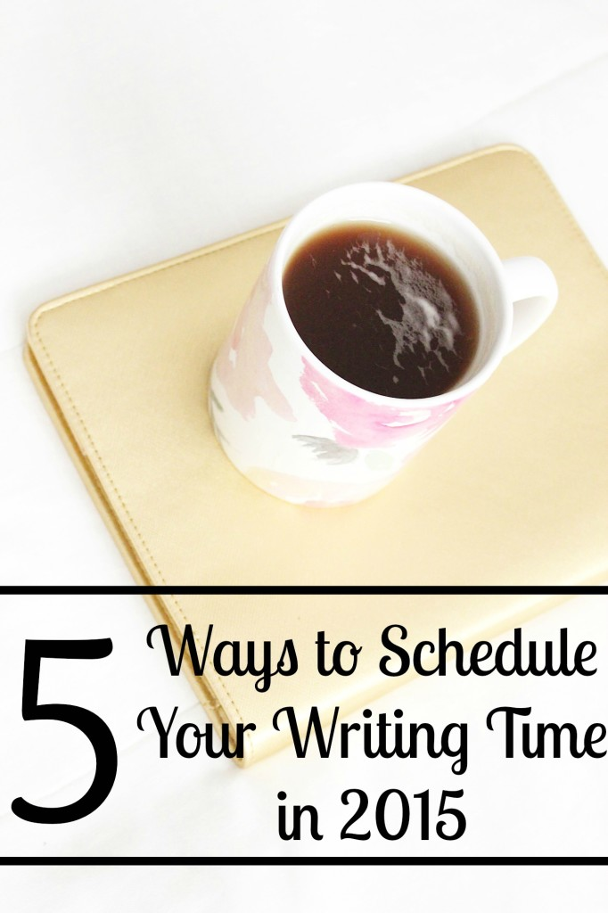 Schedule Your Writing Time