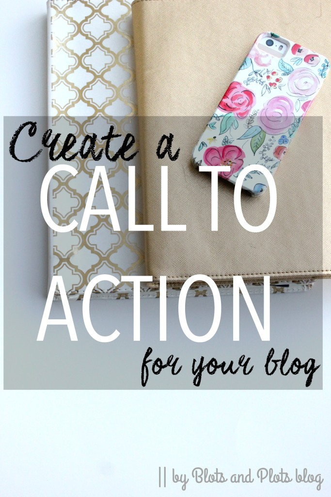 Create a Call to Action