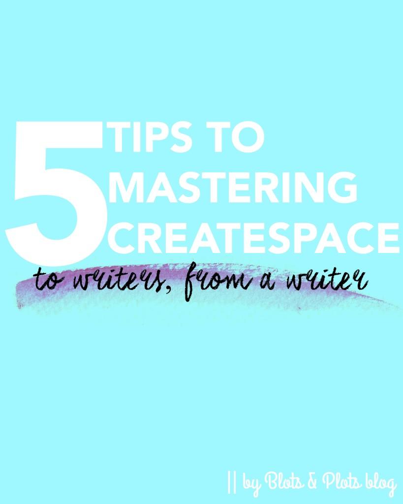 createspace advice