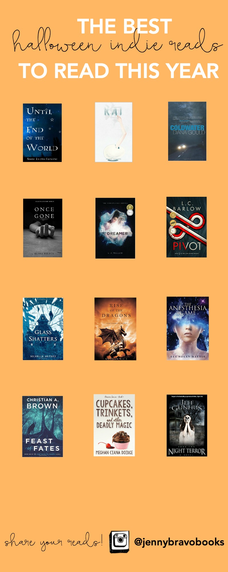 Looking for the next book to read this fall? From thrillers to ghost stories to mysteries and more, these books will get you ready for all the tricks and treats this Halloween!