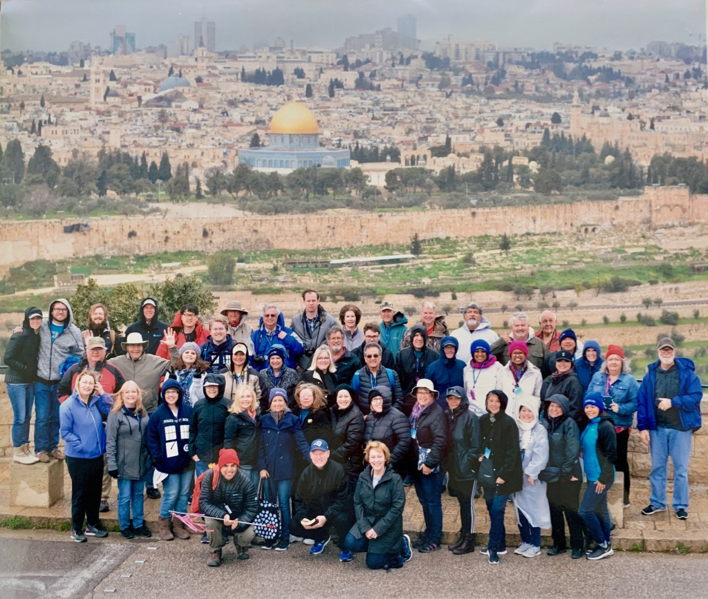 """Footsteps of Jesus"" Tour with the Cause Church…"