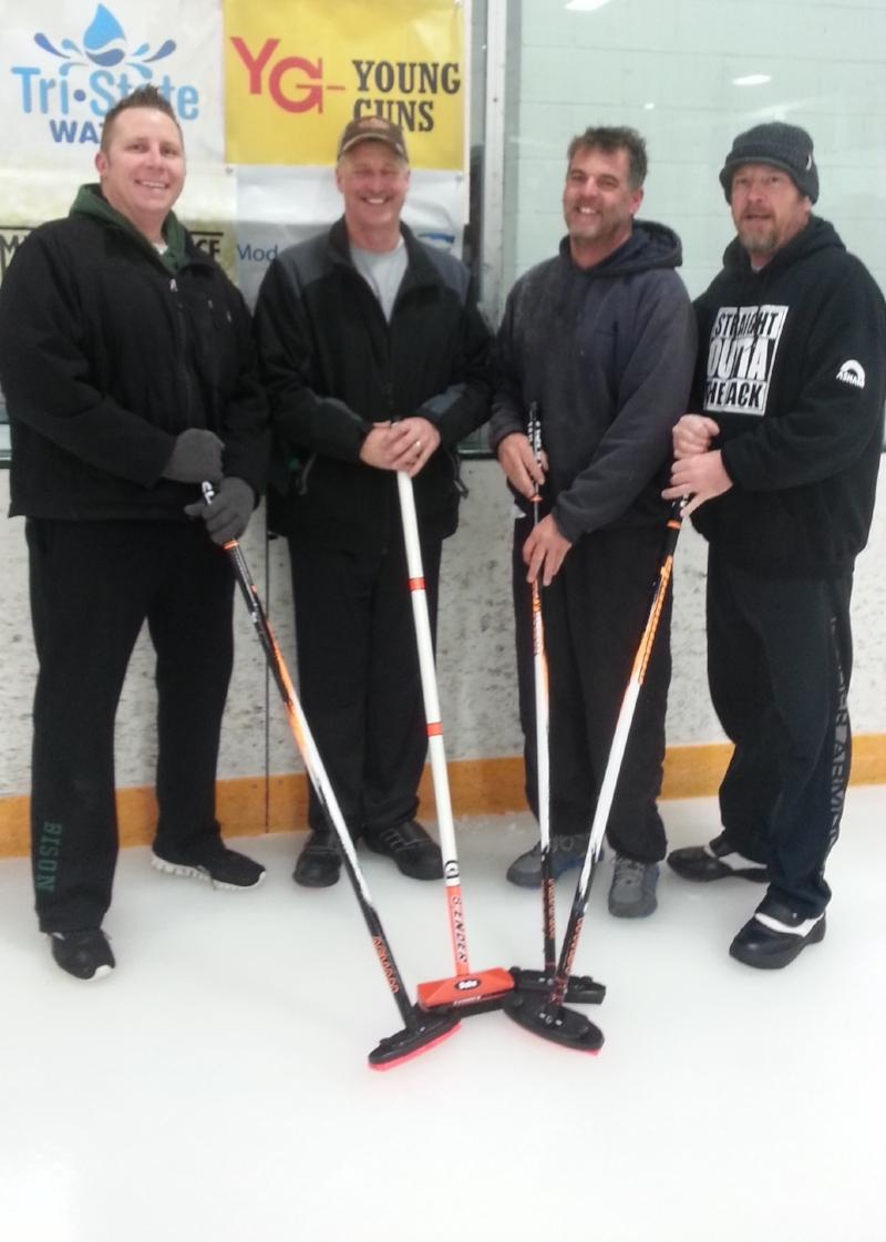 Congratulations to the Aberdeen Curling Club Wednesday night mixed league regular season champions team TFI