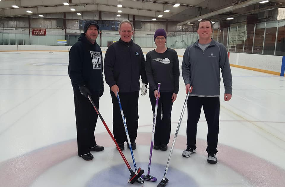 Our 2nd annual new years bonspiel champs team TFI