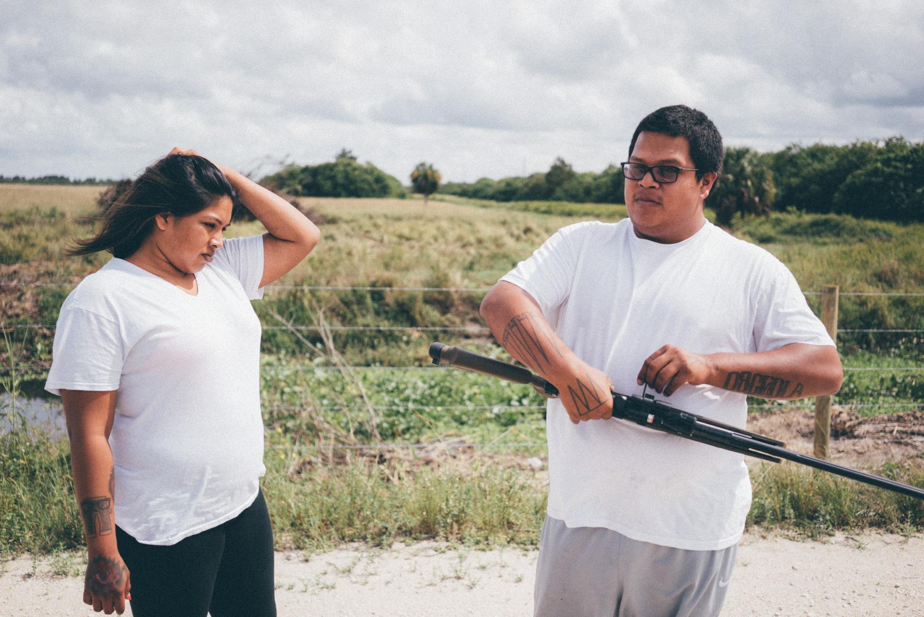 Hunting, Miccosukee Reservation, 2014