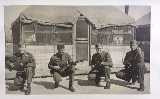 My grandfather, named Silvio Cicciarelli, served as Field Lineman # 641 in World War II starting at only age 22. He hailed from Abruzzo, Italy, and unfortunately died before I was born. These fascinating photos are just a handful of ones that he took during his service. #WWII