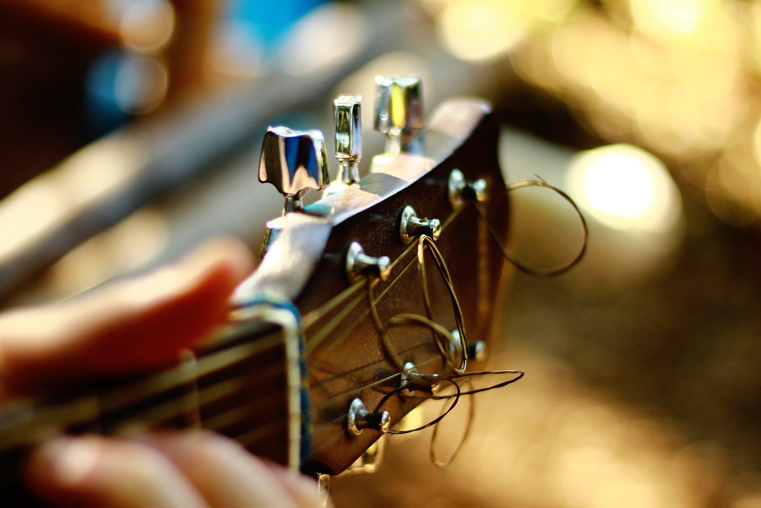 guitar tuning studio