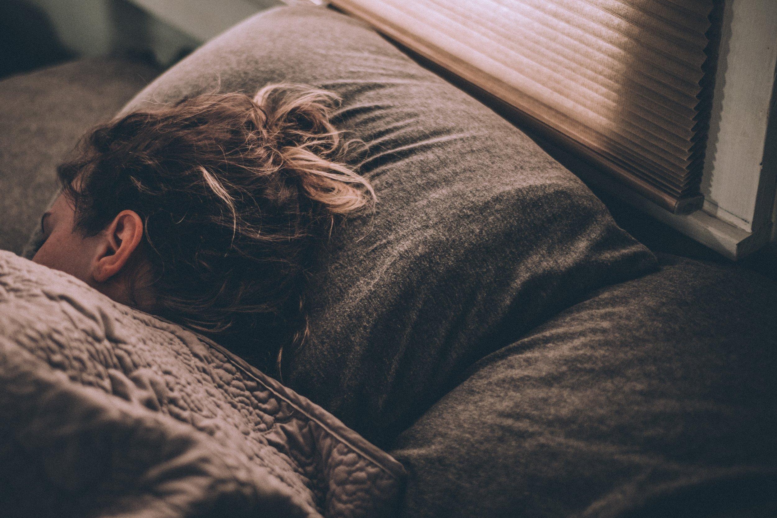 sleep before recording