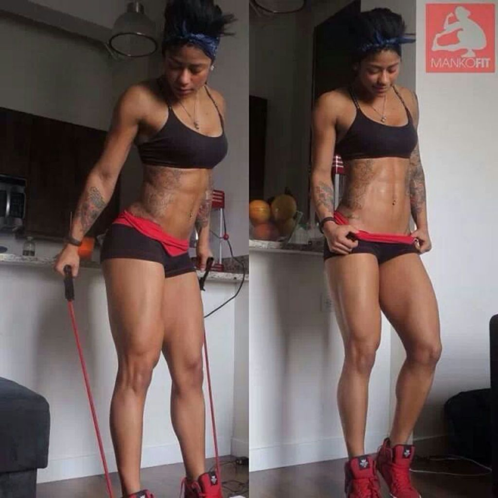 """Massy Arias is probably my favorite! She is a personal trainer based in LA. She can be found in several magazines giving tips and you can also find her in the Trey Songz """"O' Na Na"""" video"""