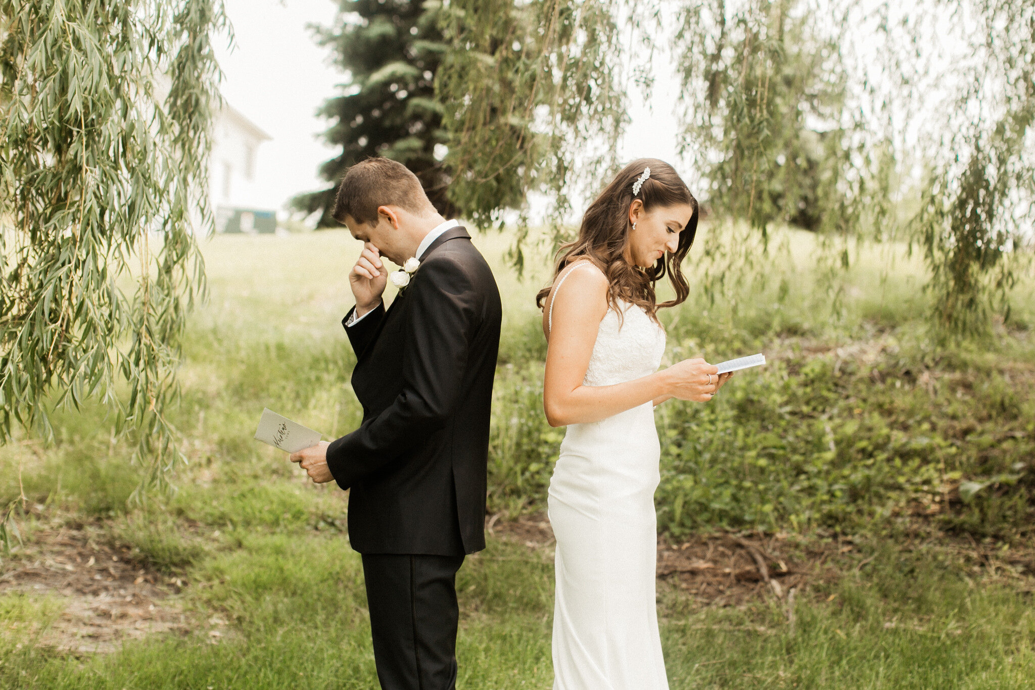 Beautiful Northwest Indiana Summer Briar Ridge Country Club Wedding with Midwest Photographer
