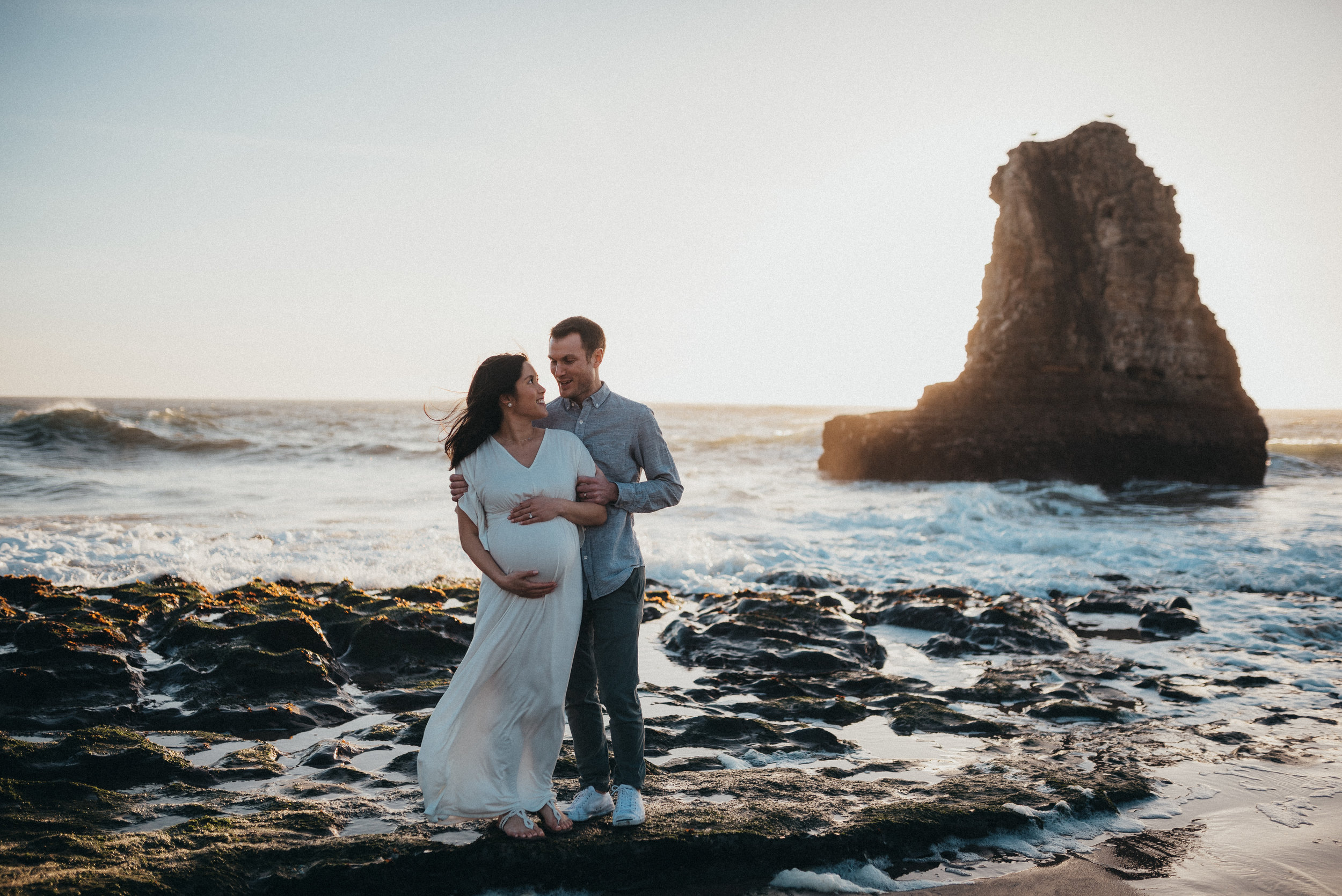 Lifestyle maternity photography in Colorado and California