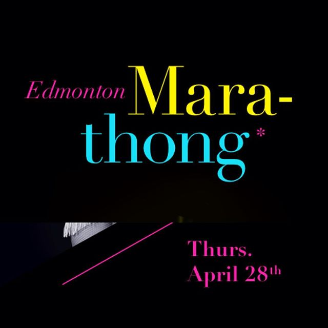 The #YegMarathong is tonight! Come see #SBS members @flora.pistol @dame.perignon and @violettecoquette in action! Buy your tickets in advance at marathong.eventbrite.com. The event is at the cool-and-creepy Freemasons Hall downtown (10318 100 Ave). Doors at 6:30pm, show at 7pm // Bar is CASH ONLY! Bring your dolla' bills!! #yegevents #yegburlesque #marathon #of #glitter