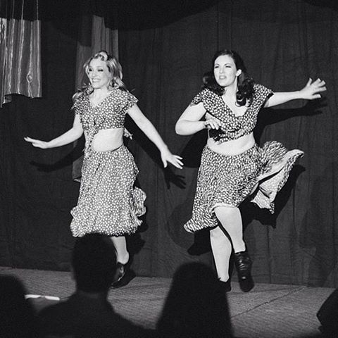 #TBT to that time @violettecoquette + @dame.perignon performed @skirtsafire. 📷 @mat.simpson . . . #skirt #fire #women #duo #burlesque #dance #numbers #performance #black #white #ootd #fun #happy #play #dress #swish #yeg #yegarts #troupe #women #cute #shimmer #glitter #igers #babe #insta #like #girlboss #repost