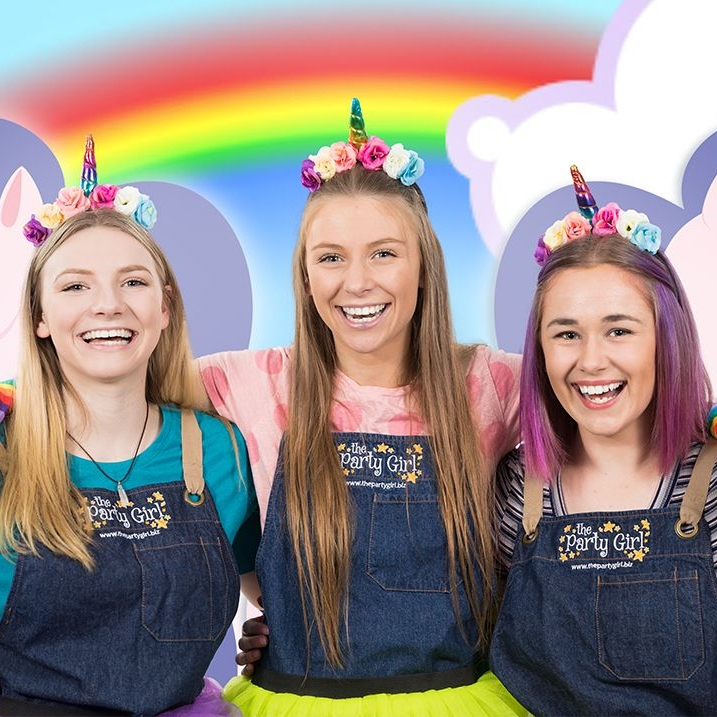 RAINBOWS & UNICORNS PARTY ~ Ages 4+