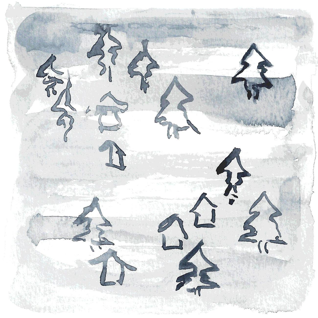 10 dicembre:  Nebbia che tutto avvolge e accarezza, che ammorbidisce i tratti, le luci, i problemi e la vita. Nebbia che sa di cuoio e ginepro, che pizzica il naso e arruffa i capelli. Nebbia che ascolta e si lascia ascoltare. Nebbia che appare non per far scomparire ma per sottolineare ciò che, una volta dissolta, torna...
