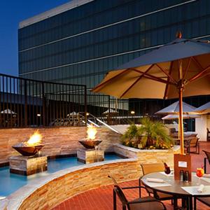 ANAHEIM HILTON HOTEL      Porte-Cochére and Pool Deck Renovation