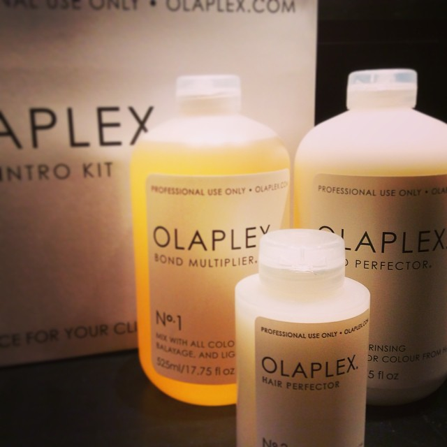 Olaplex has arrived!! Olaplex reconnects broken bonds in the hair during your colour service. It is free from silicone, sulfates and is animal cruelty free. We cannot wait to start trying this out #olaplex #damagefree