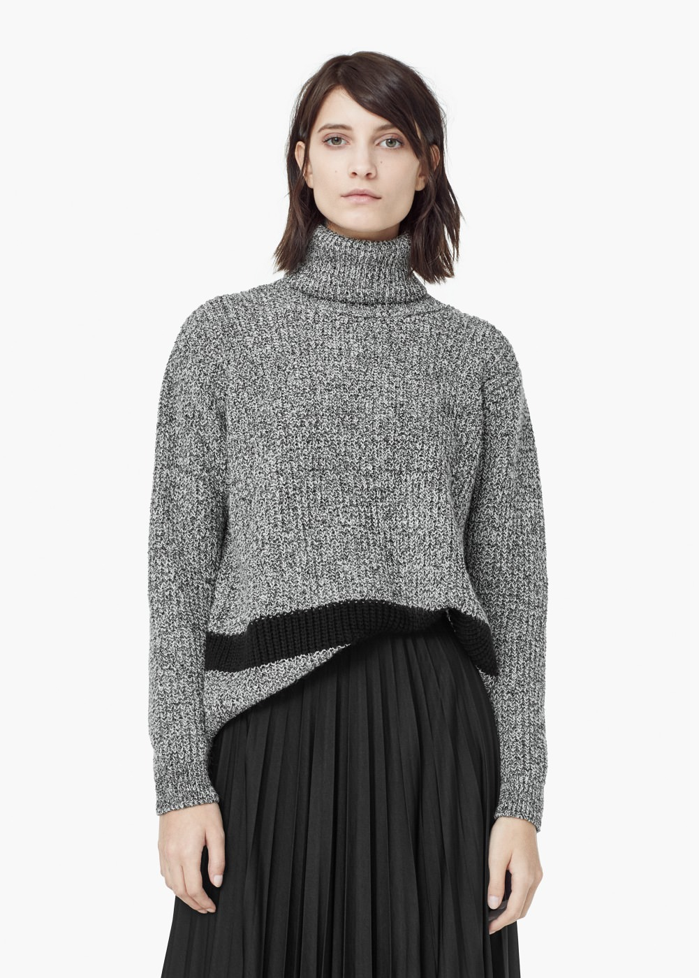 Flecked Cotton Blend Sweater €29.95  REF. 53007659