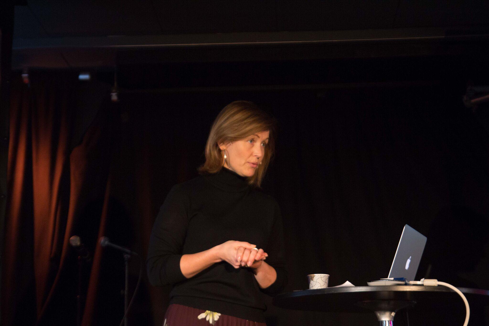 – Vi står på skuldrene til kjemper. Direktør i Kulturrådet Kristin Danielsen om 1970-årenes kvinnekamp.Foto: Lasse Fosshaug/NOPA