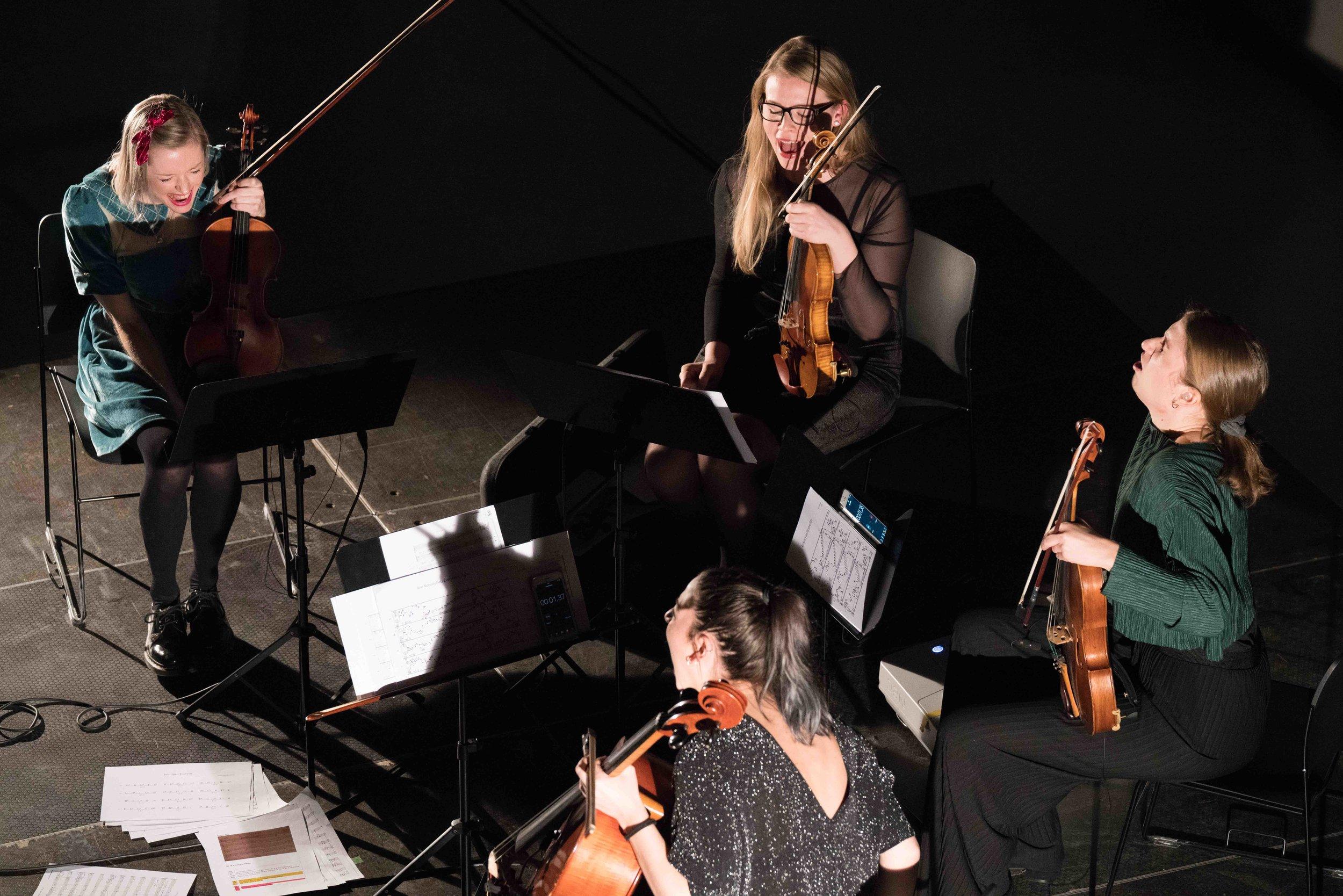 Rosella/Borealis Ung Komponist 2017/2018.Foto: Thor Brødreskift/Borealis