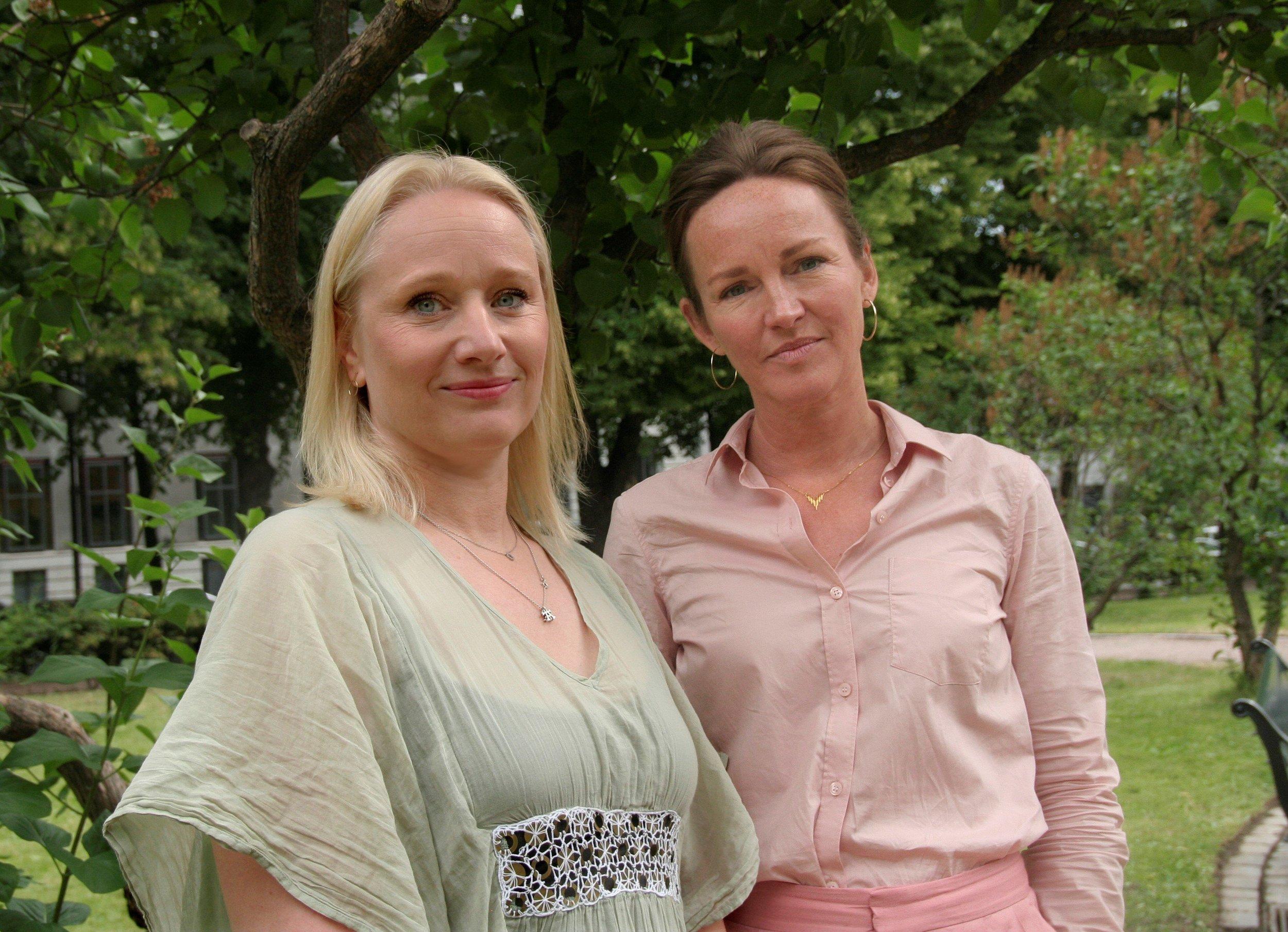 Talent Norges Maria M. Jørstad og Norsk filminstitutts Stine Helgeland. Foto: Ida Meyn
