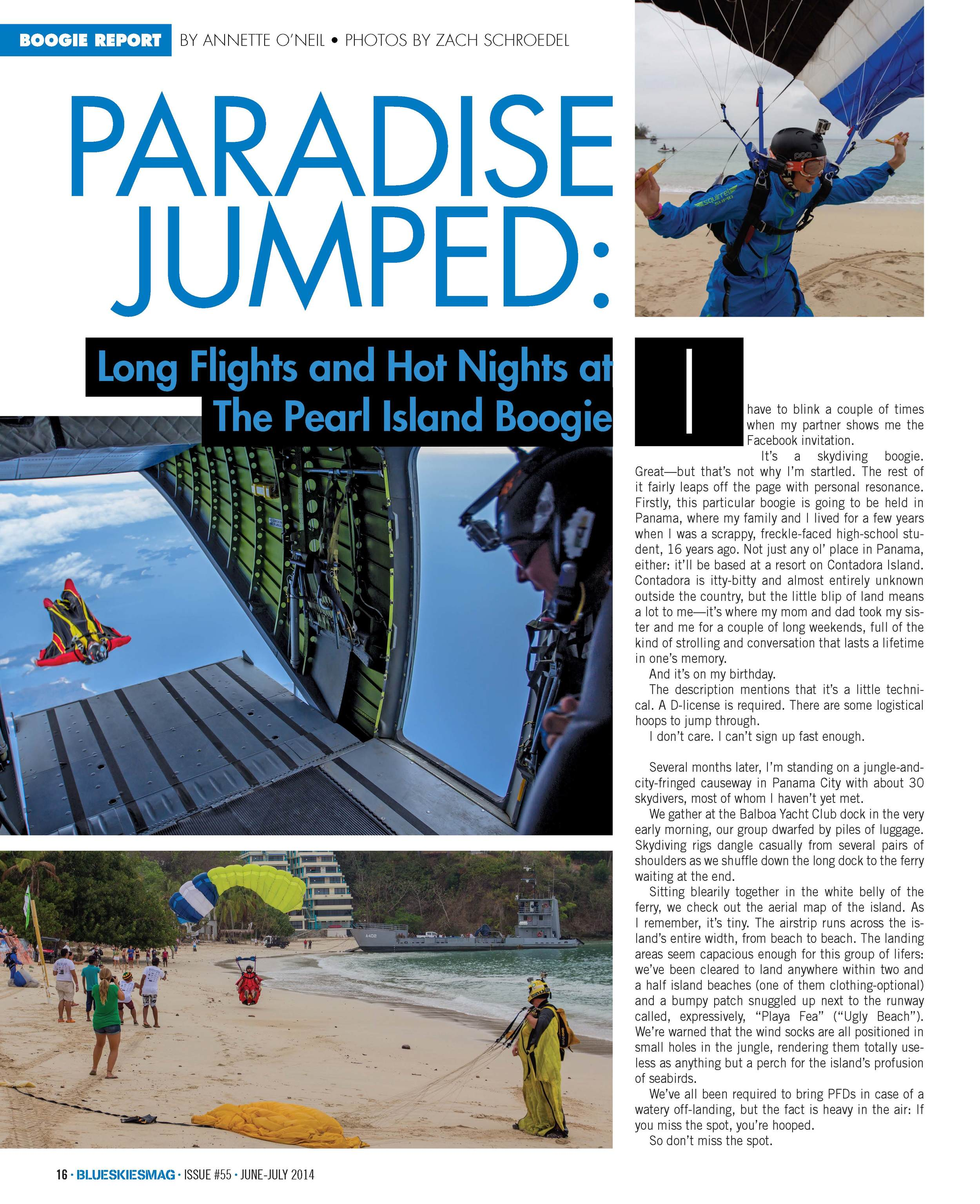 Paradise Jumped: Long Flights and Hot Nights at the Pearl Island Boogie