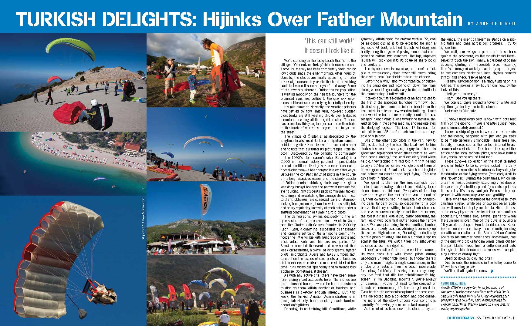 Turkish Delights: Hijinks Over Father Mountain