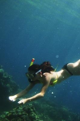 Snorkeling in Batangas