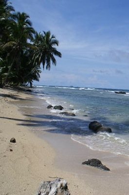 Beaches in Colon, Panama