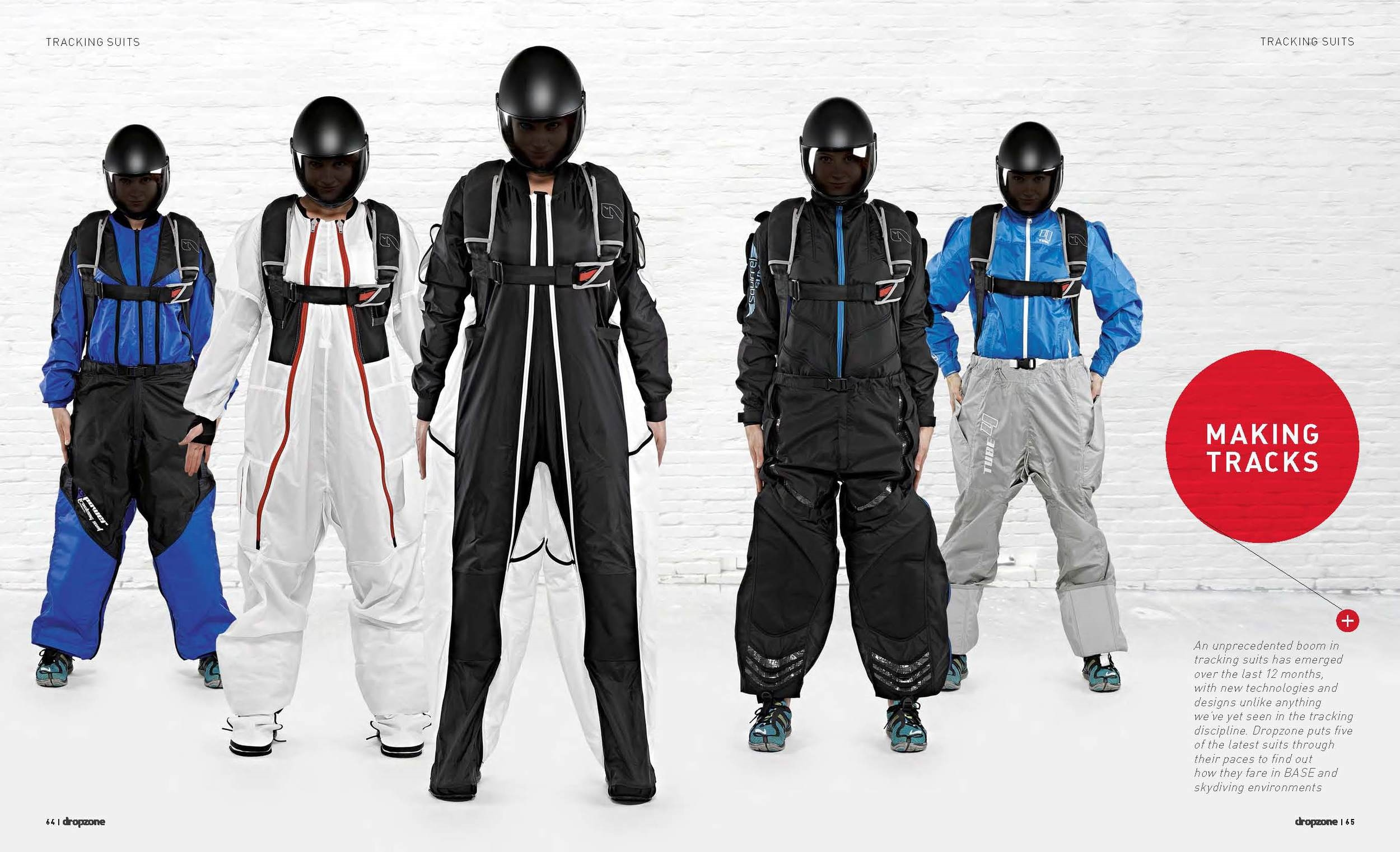 Making Tracks: Putting Five Tracking Suits Through Their Paces