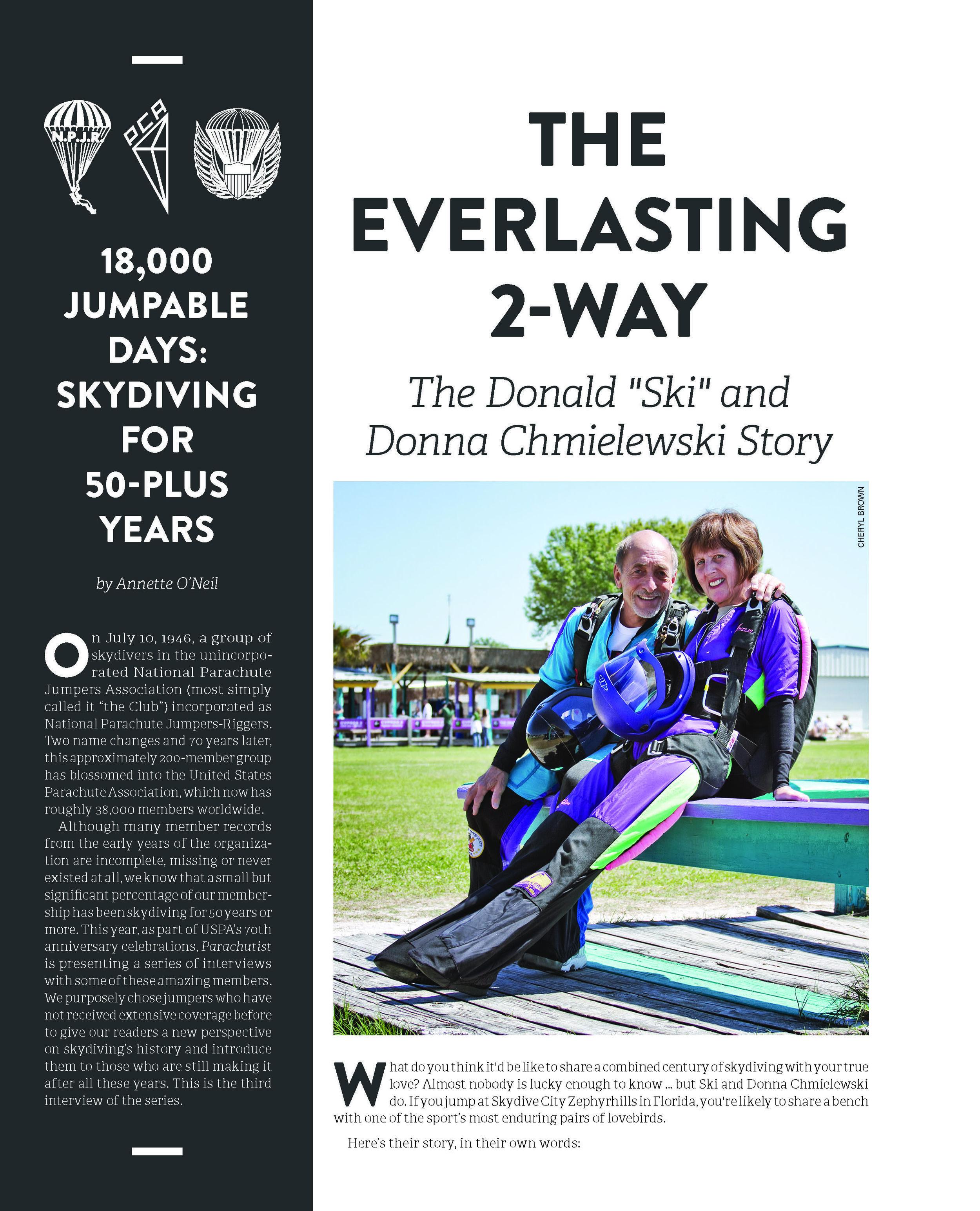 18,000 Jumpable Days: The Everlasting 2-Way