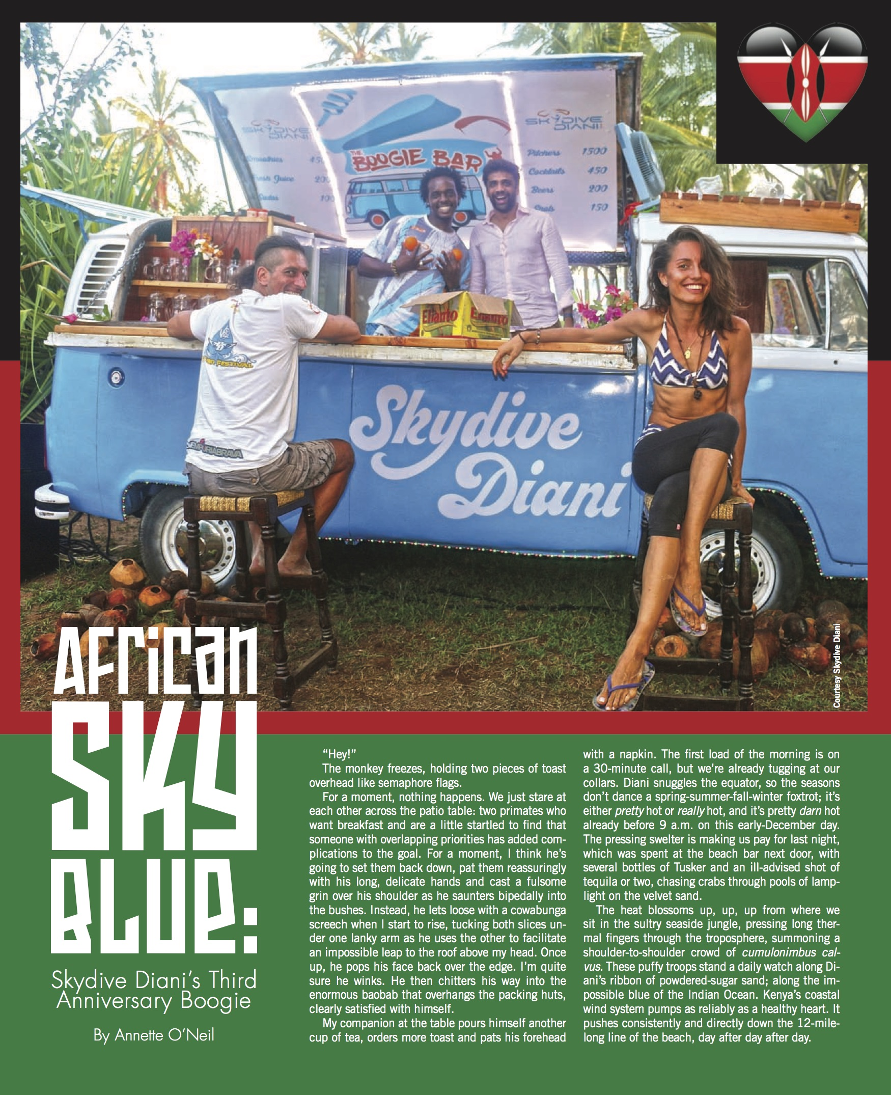 Skydive Diani Christmas Boogie 2016