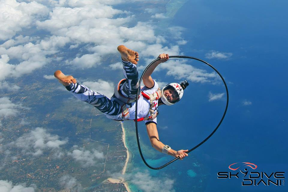African Sky Blue: The Skydive Diani Anniversary Boogie
