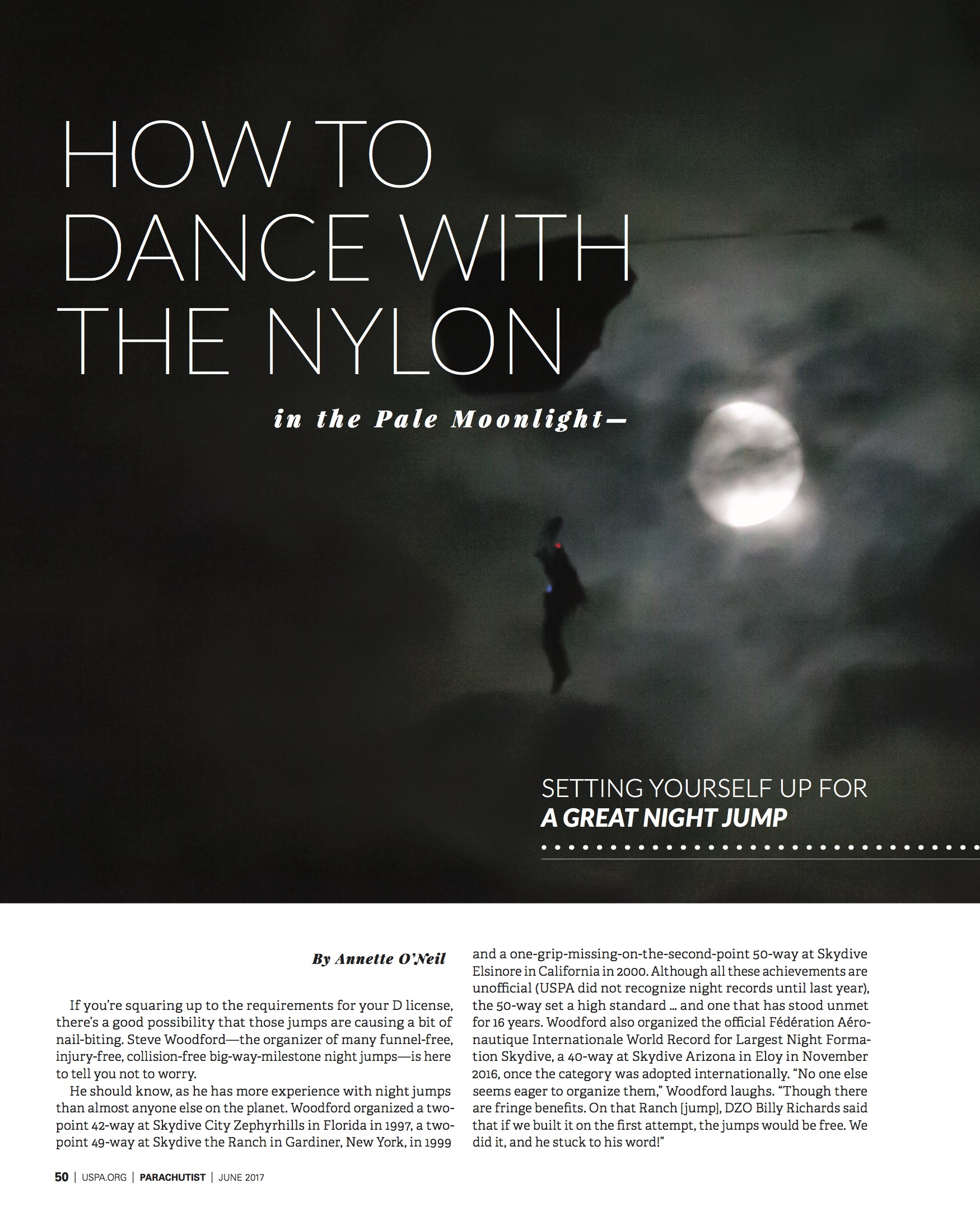 How to Dance With The Nylon In The Pale Moonlight
