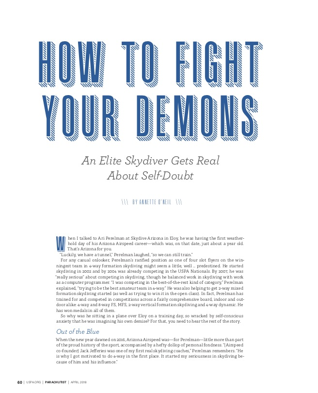 How to Fight Your Demons