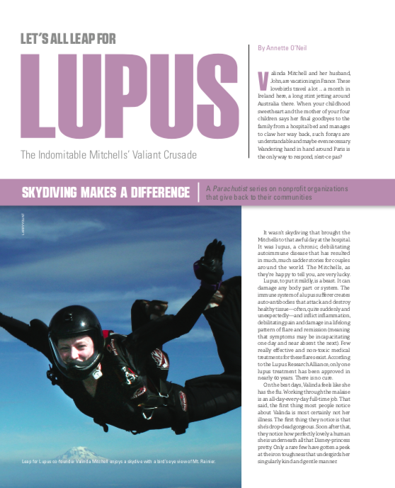 Leap For Lupus