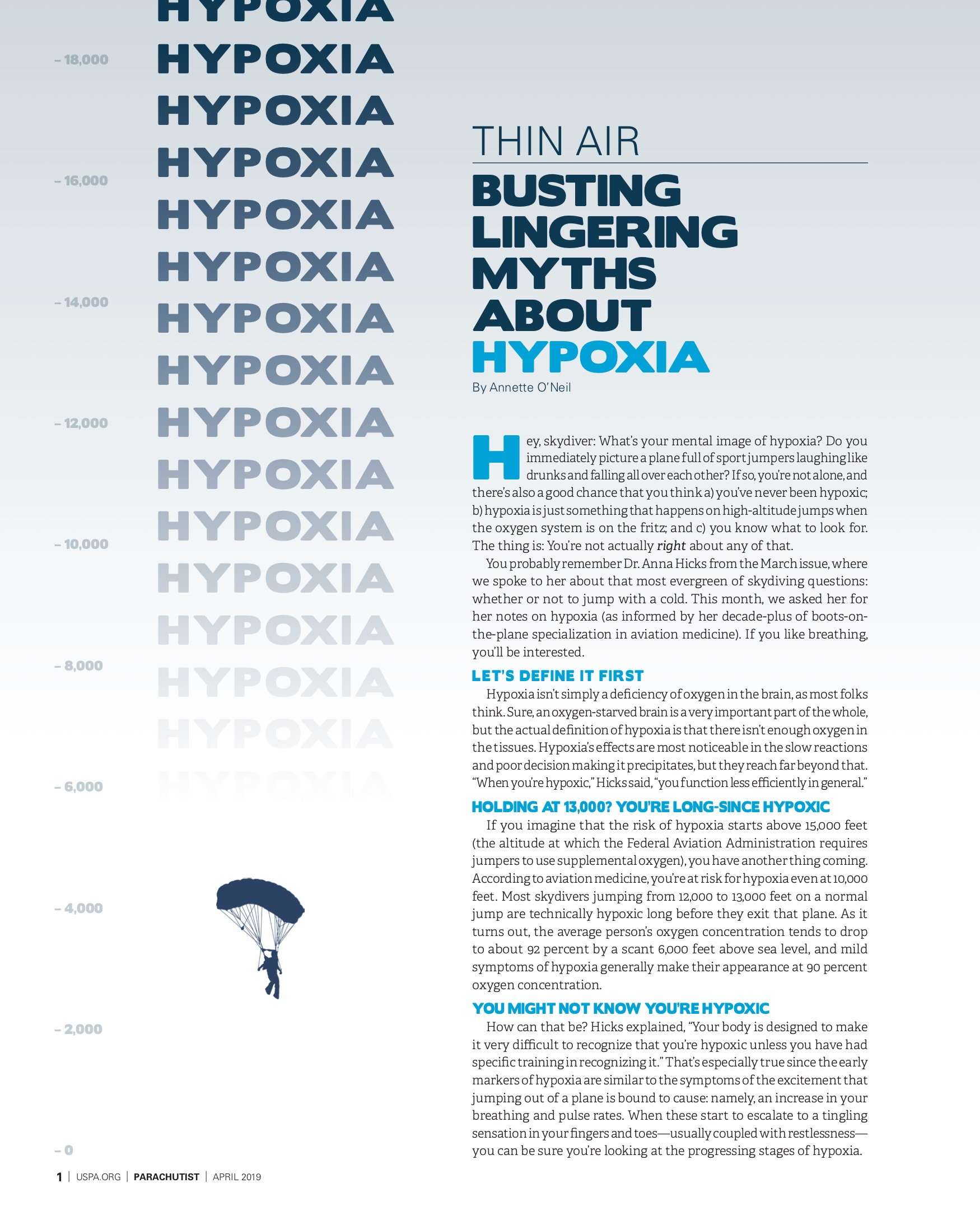 Thin Air: Busting Lingering Myths About Hypoxia