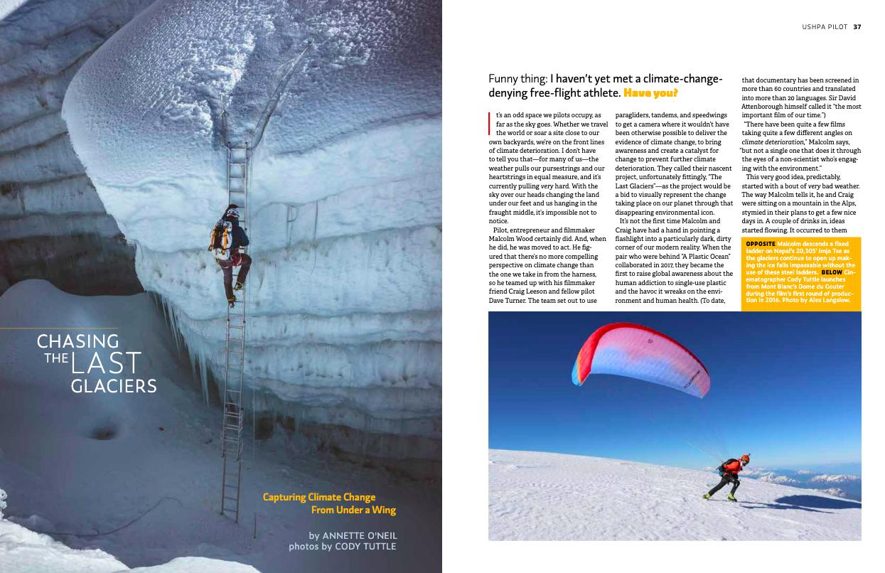 Malcolm Wood, Last Glaciers