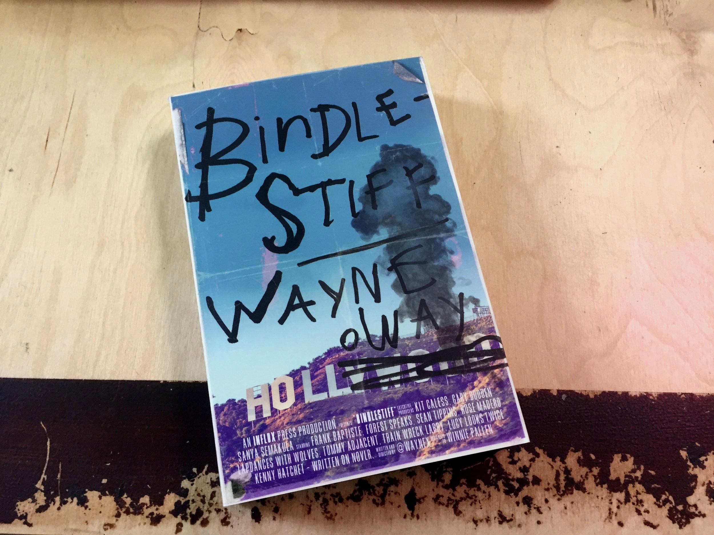 Bindlestiff – paperback / eBook
