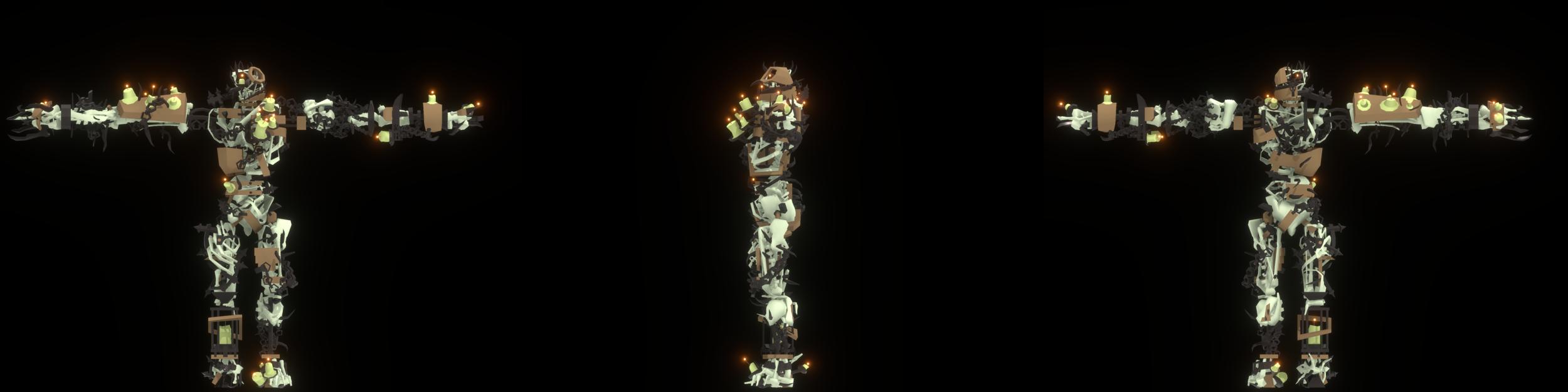 Dismantle: Construct Carnage, Character Design Retrospective, Great Helm - 17