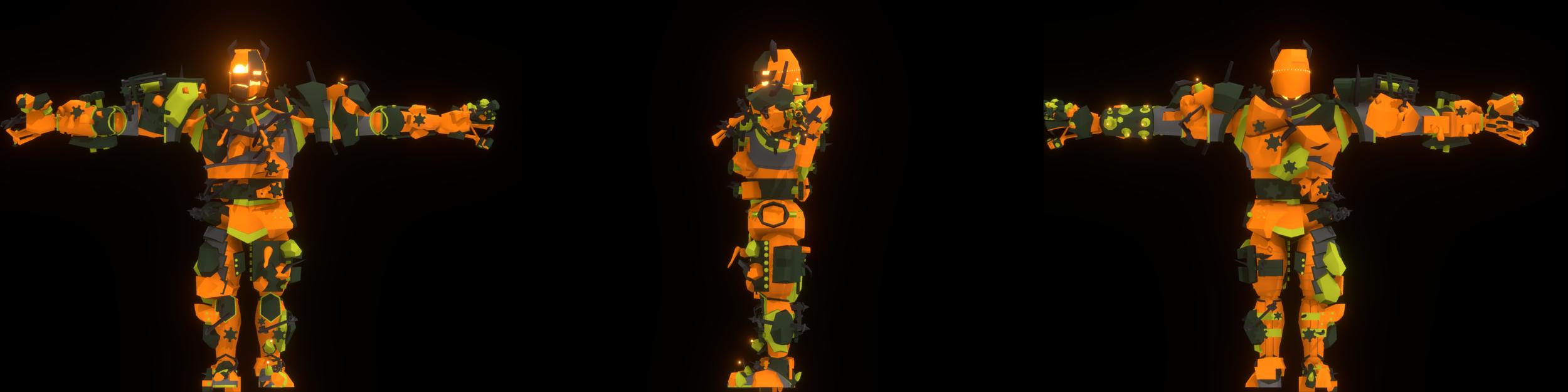 Dismantle: Construct Carnage, Character Design Retrospective, Great Helm - 18