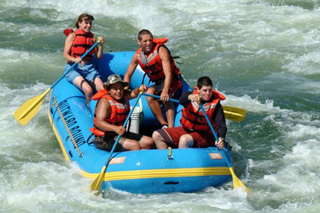 River Rafting -