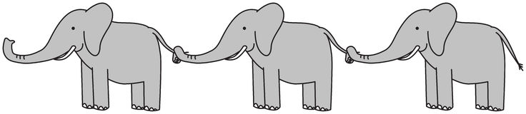 happy-elephants-three-grey-ina-row-holding-tails-40985879.jpg