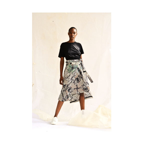 HAWECHA WRAP SKIRT
