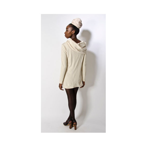 BEIGE JERSEY SHORT WITH COWL BACK.jpg