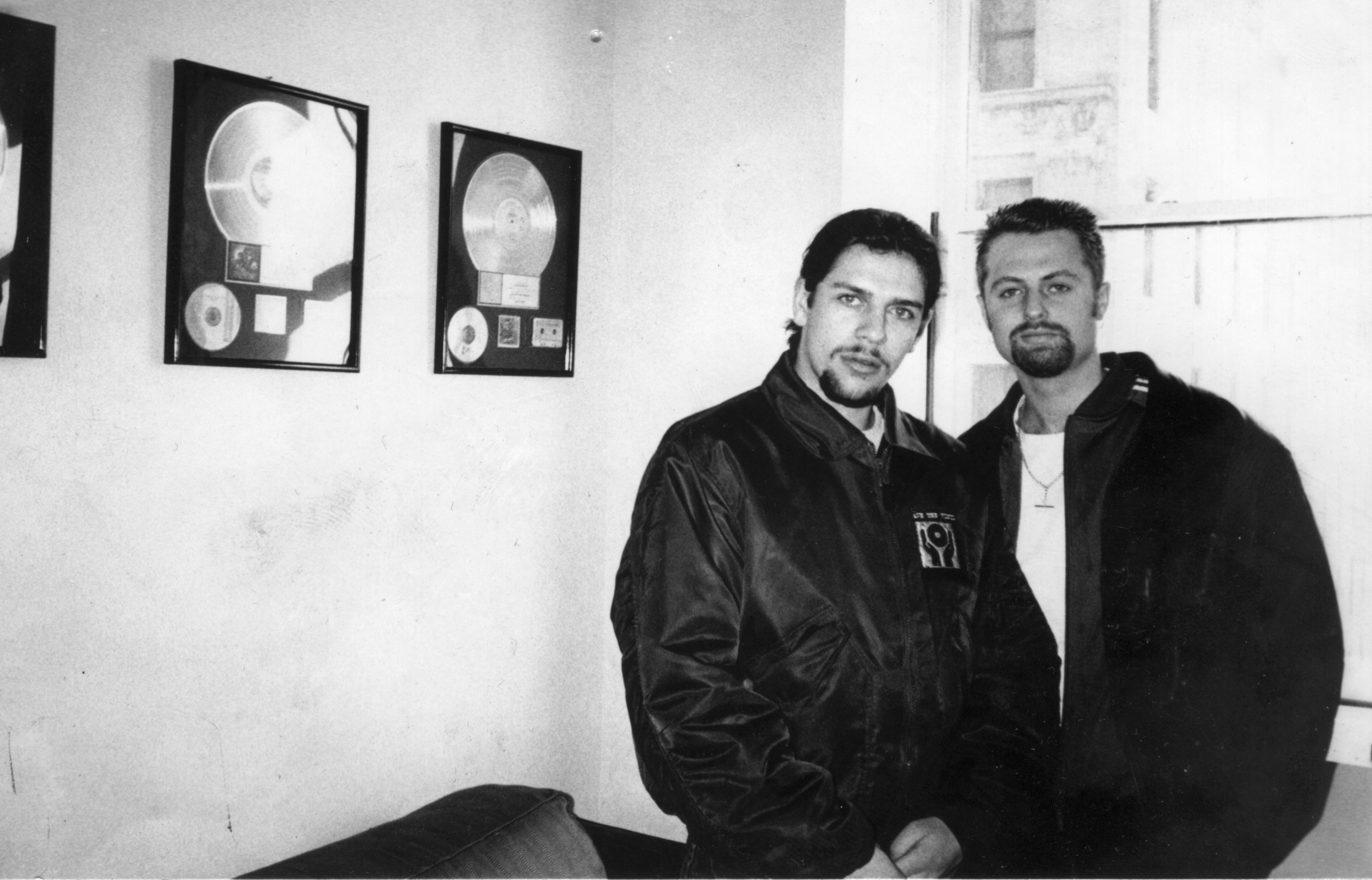 RICHARD RAMSEY (Left) and NEALE EASTERBY (Right) - NEW YORK, 1996