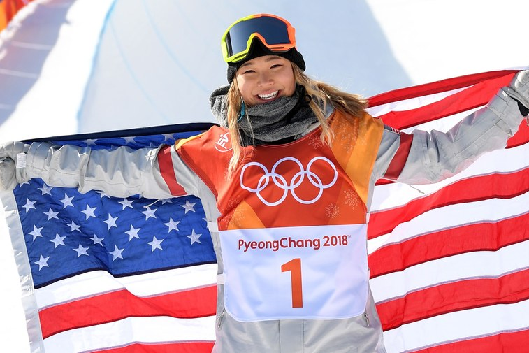 Chloe Kim (photo:   Loic Venance/AFP/GettyImages )